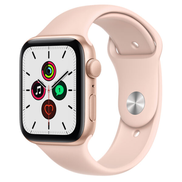 Apple Watch SE Gold Aluminium Case with Sport Band 44mm GPS