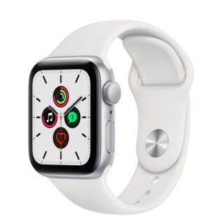 Apple Watch SE Silver Aluminium Case with Sport Band 40mm GPS