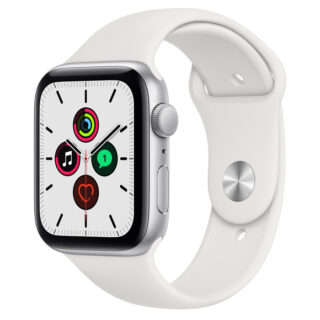 Apple Watch SE Silver Aluminium Case with Sport Band 44mm GPS