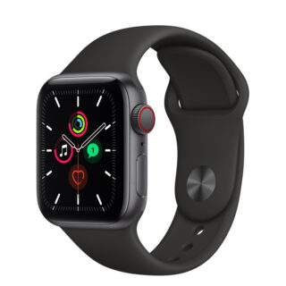 Apple Watch SE Space Grey Aluminium Case with Sport Band 40mm Cellular