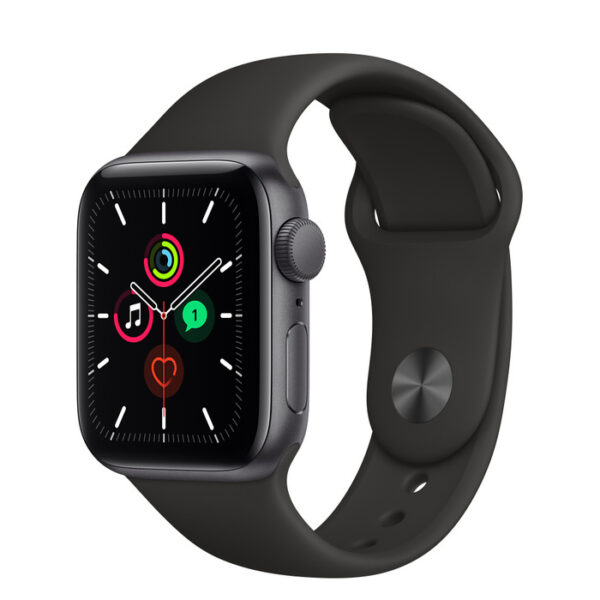 Apple Watch SE Space Grey Aluminium Case with Sport Band 40mm Gps