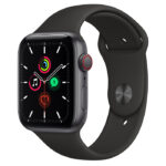 Apple Watch SE Space Grey Aluminium Case with Sport Band 44mm Cellular
