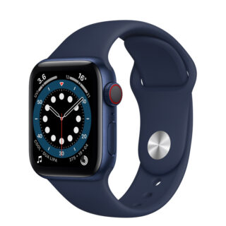 Apple Watch Series 6 Blue Aluminium Case with Sport Band 40mm Cellular
