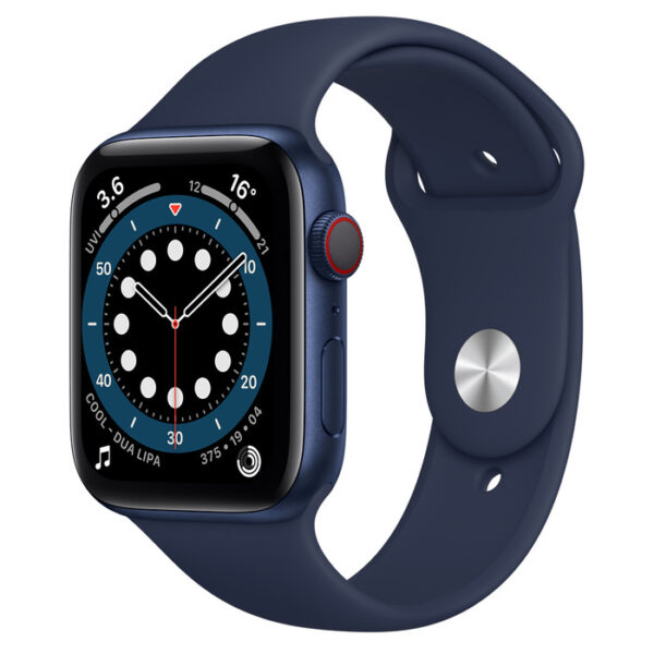 Apple Watch Series 6 Blue Aluminium Case with Sport Band 44mm Cellular