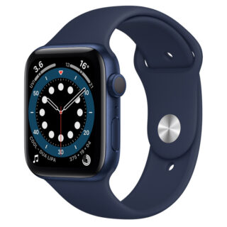Apple Watch Series 6 Blue Aluminium Case with Sport Band 44mm GPS
