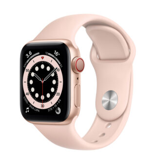 Apple Watch Series 6 Gold Aluminium Case with Sport Band 40mm Cellular
