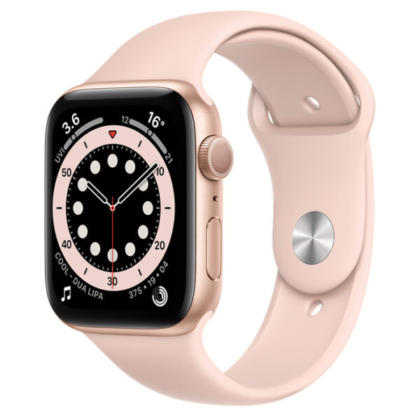 Apple Watch Series 6 Gold Aluminium Case with Sport Band 44mm GPS