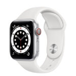 Apple Watch Series 6 Silver Aluminium Case with Sport Band 40mm Cellular