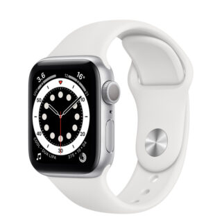Apple Watch Series 6 Silver Aluminium Case with Sport Band 40mm GPS