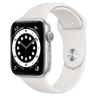 Apple Watch Series 6 Silver Aluminium Case with Sport Band 44mm GPS