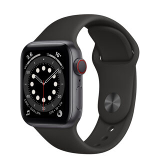 Apple Watch Series 6 Space Grey Aluminium Case with Sport Band 40mm Cellular
