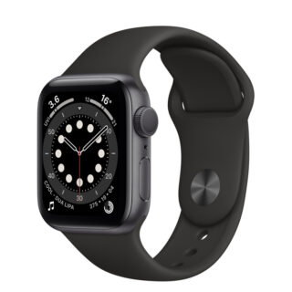 Apple Watch Series 6 Space Grey Aluminium Case with Sport Band 40mm GPS