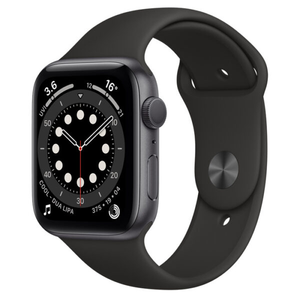 Apple Watch Series 6 Space Grey Aluminium Case with Sport Band 44mm GPS