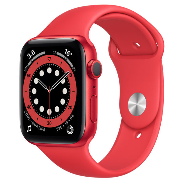 Apple Watch Series 6(PRODUCT)RED Aluminium Case with Sport Band 44mm GPS